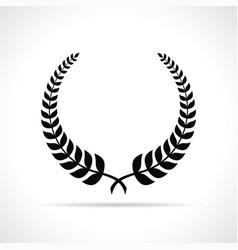 Laurel on white background vector