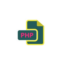 PHP Icon vector