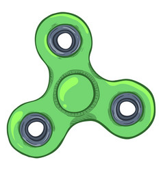 Single cartoon - hand spinner vector