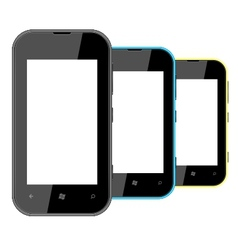 smart mobile phone vector image