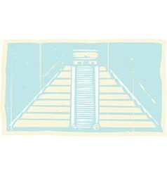 Mayan Pyramid Codex vector image vector image