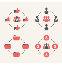 Business Schemes vector image