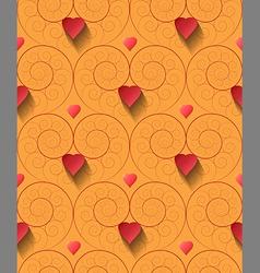 fractal-spiral seamless pattern vector image