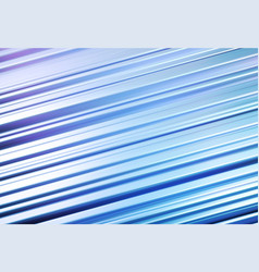 Holographic blue stripped 3d background great vector