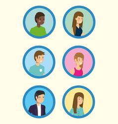 outdoor people activity flat design vector image