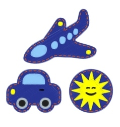 Patches - set for kids vector