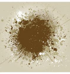 grunge splat vector image