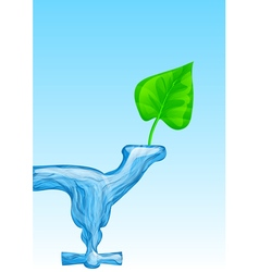water for life vector image vector image
