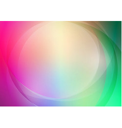 abstract curved with colorful background vector image