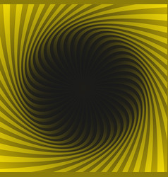 abstract hypnotic swirl background vector image