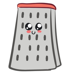 Cute grater or color vector