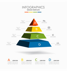 infographic template used vector image