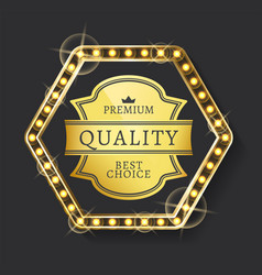 Label best shopping product premium vector