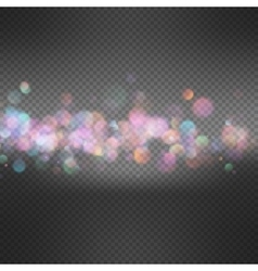 Light background with bokeh EPS 10 vector image