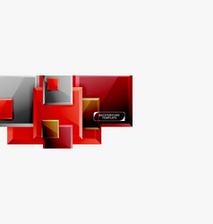 Minimal square banner abstract background vector