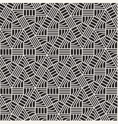 Seamless irregular linear grid pattern modern vector
