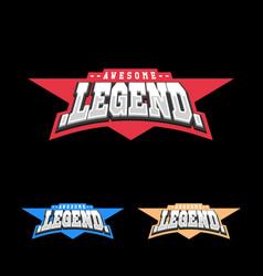 Sport retro lettering oo emblem legend t-shirt vector