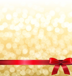 Golden New Year Card vector image vector image