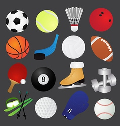 Sport Icons Collection vector image