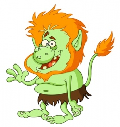 troll vector image vector image