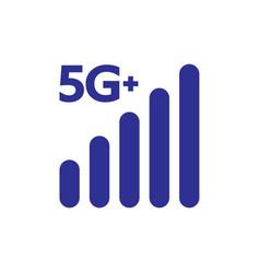 5g symbol internet new technology network vector image
