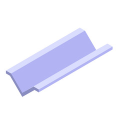 Architecture gutter icon isometric style vector