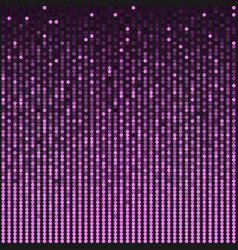 Background made pink sequins glitters dots vector