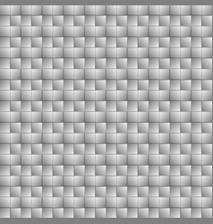 Gray wicker background vector