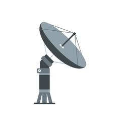 Parabolic aereal flat icon vector