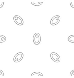top view can pattern seamless vector image
