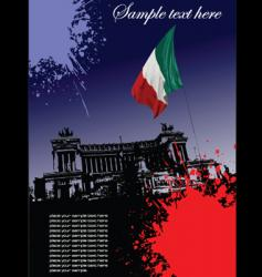 Italian image vector image vector image