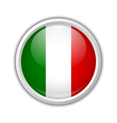 Italian badge or icon vector image vector image
