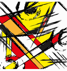 Abstract colored graffiti background vector