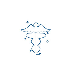 angel icon design vector image