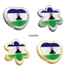 flag of Lesotho vector image vector image