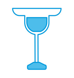 glass cup symbol vector image