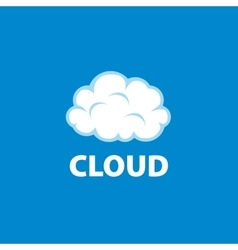 Logo cloud vector