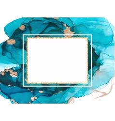 marble card presentation flyer invitation card vector image