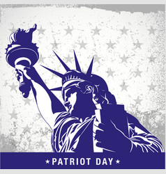Patriot day vector