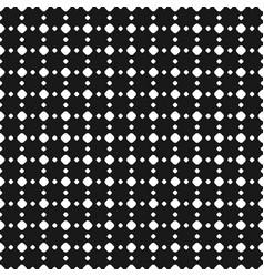 Polka dot seamless pattern black white subtle vector