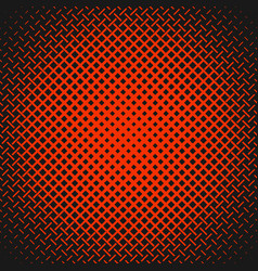 red geometric abstract halftone pattern vector image
