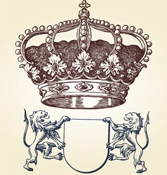 Royal symbol vector image