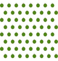 Sample seamless watermelon background vector
