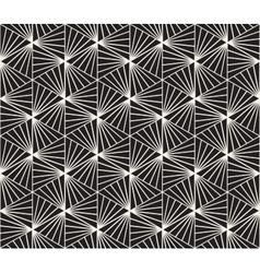Seamless Black and White Geometric Burst vector