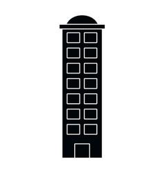 urban building cartoon vector image