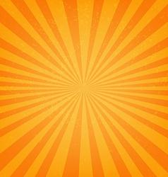 Vintage Sunburst Poster vector