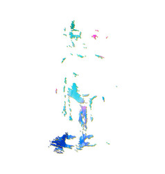 Child sketch silhouette vector