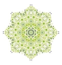 Floral pattern for your design spring concept vector image