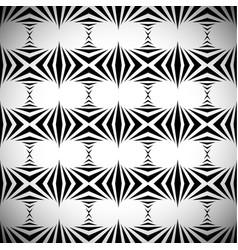 Abstract pattern background in black and white vector