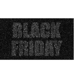 black circles black friday sale discounts vector image